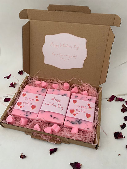 Valentines Box- WaxBlocks