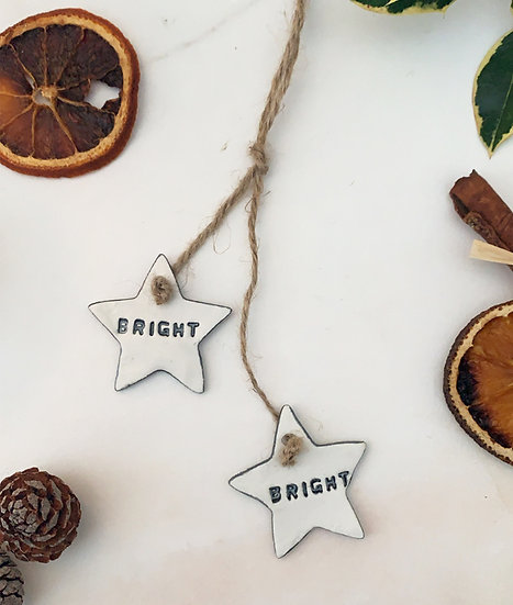 Bright Star Christmas hanger