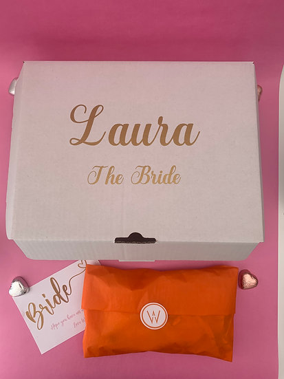 BRIDAL PERSONALISED GIFT BOX