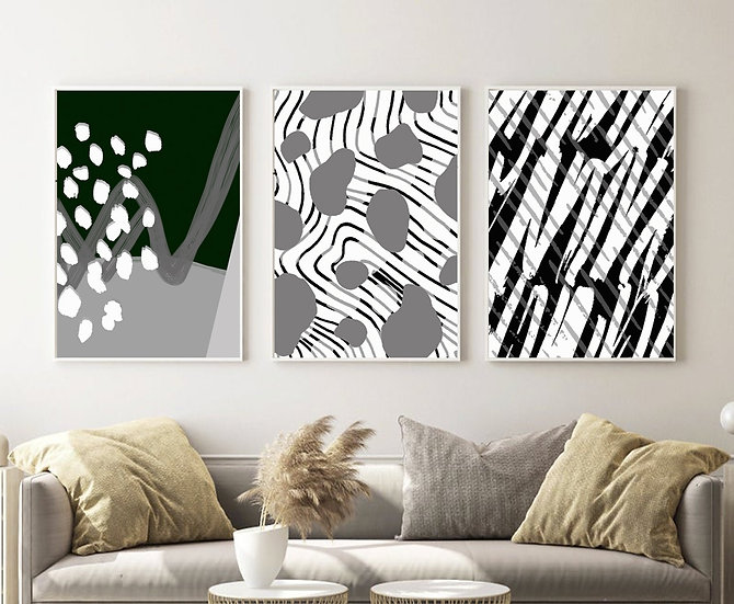Black/White Print Collection