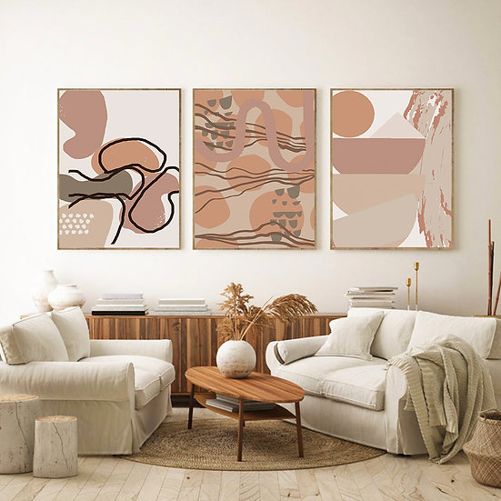 Beige Print Collection
