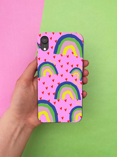 'RAINBOW STAY SAFE' IPHONE CASE