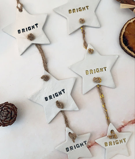 Bright Star Hanger Ornament