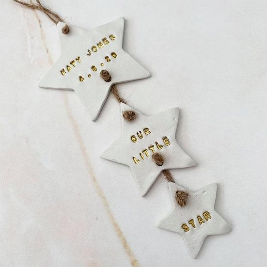 Personalised Star Hanger