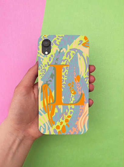 TROPICAL FOREST   PERSONALISED PHONE CASE