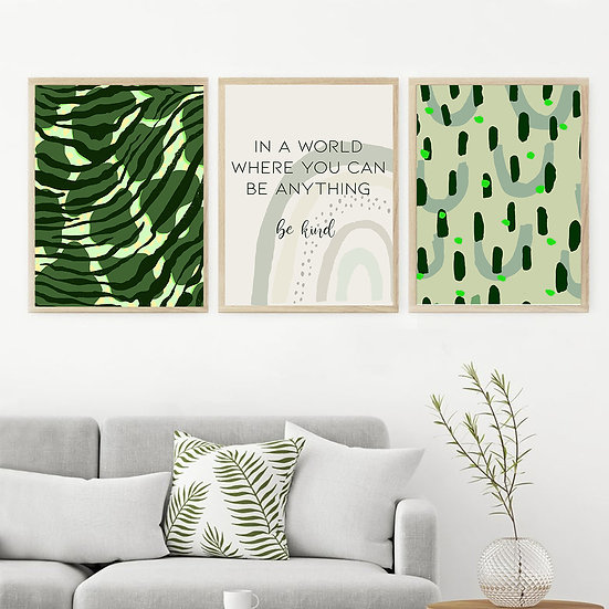 Green Print Collection