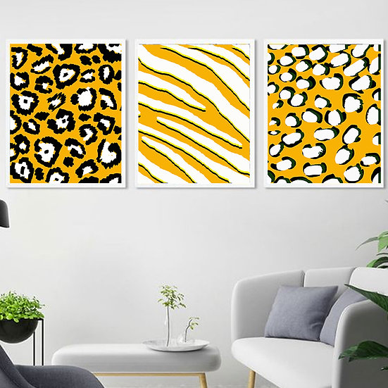 Yellow Print Collection