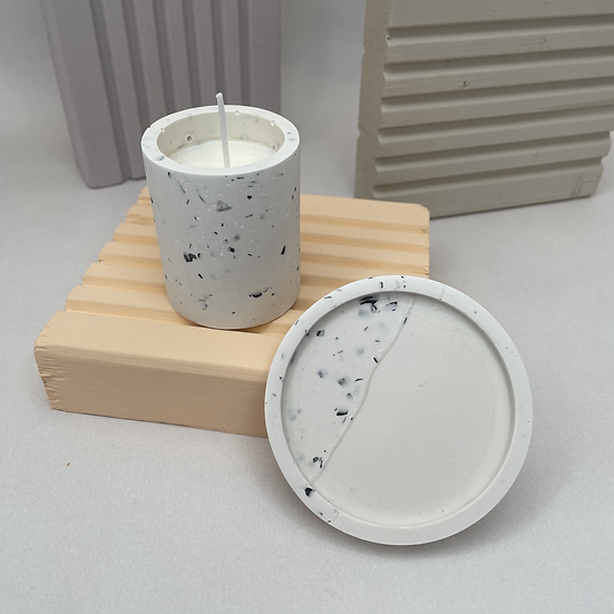 Candle and Coaster set