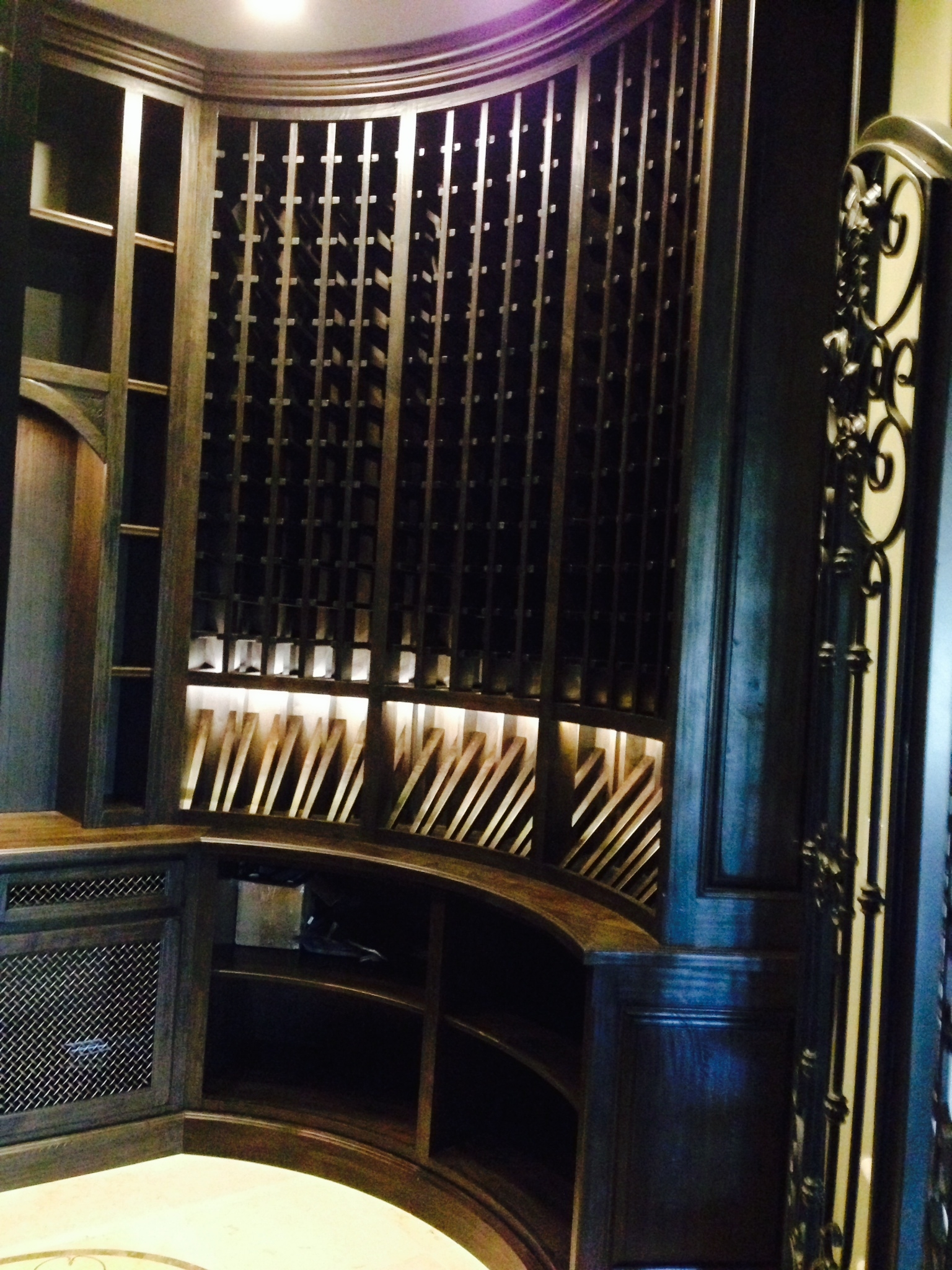Walnut Wine Cellar 2