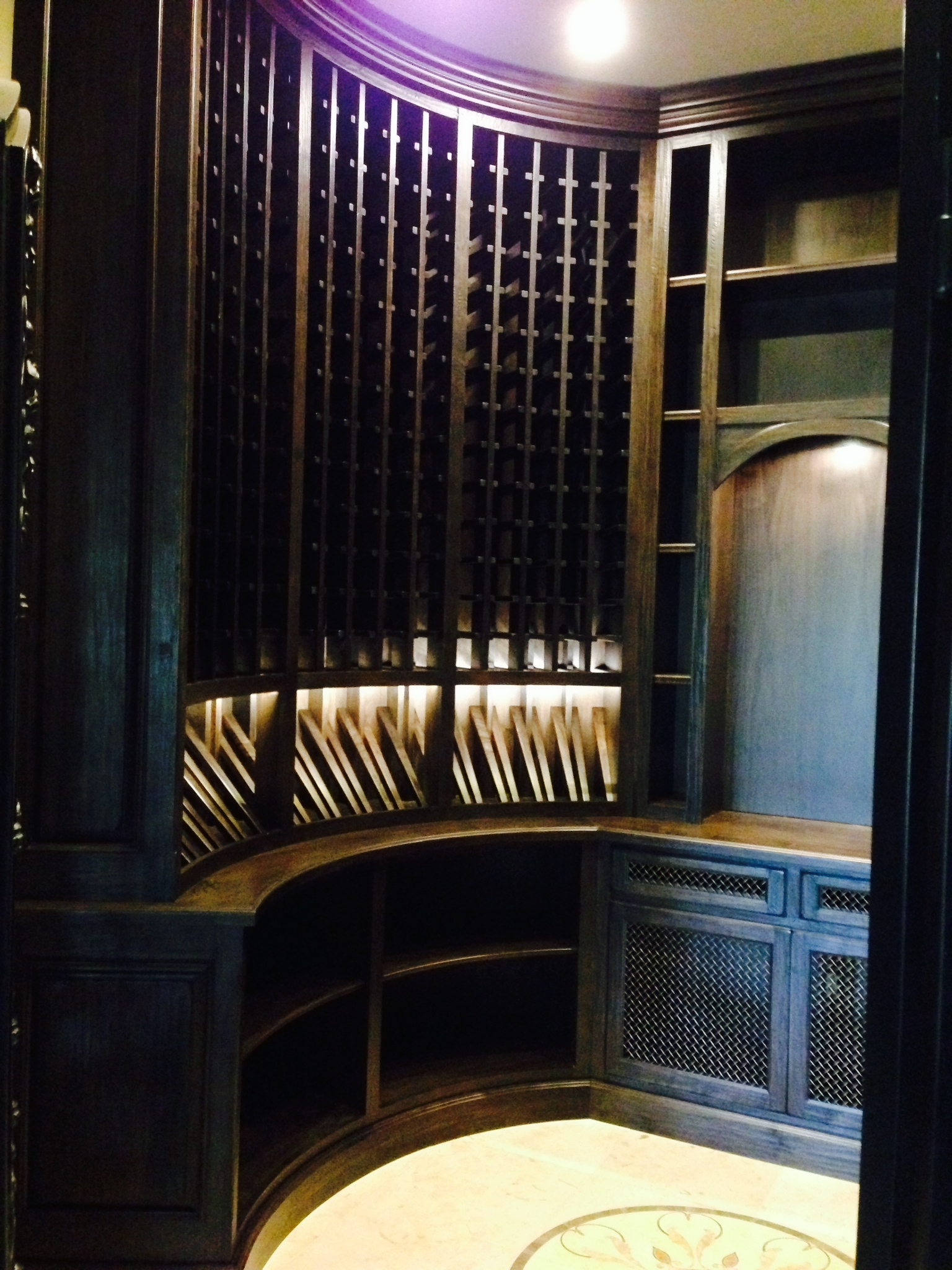 Walnut Wine Cellar