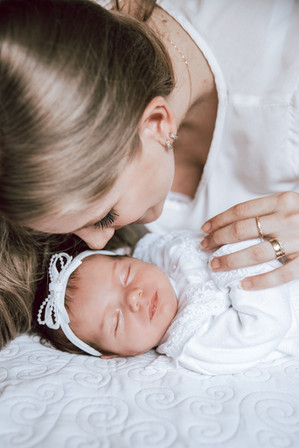 Ensaio Newborn em Casa em Brusque