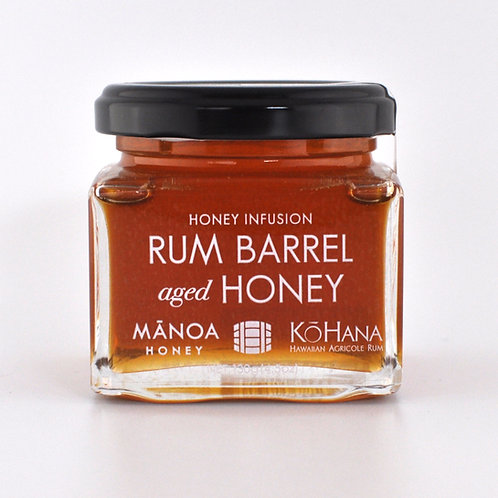 Rum Barrel Aged Honey