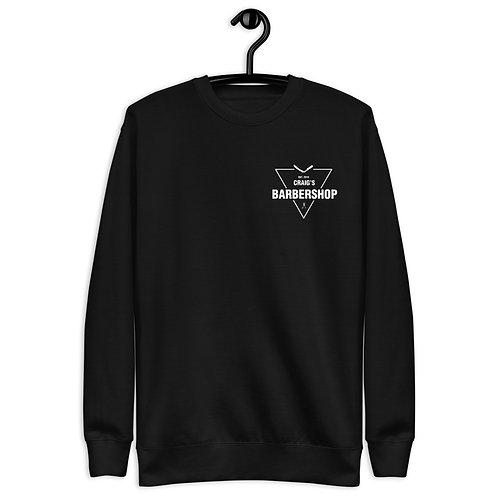 Craig's Barber Shop Unisex Sweatshirt