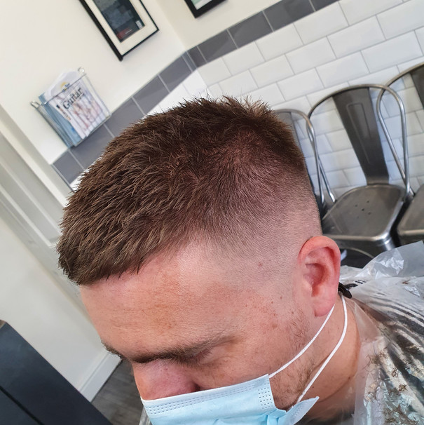 crop fade back and sides