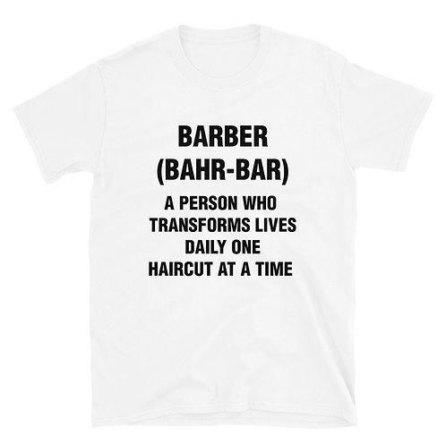 Barber (Bhar-Bar) Short-Sleeve Unisex T-Shirt