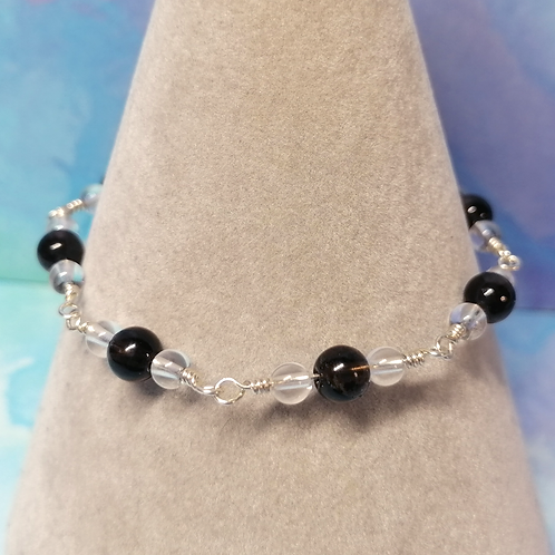 Smoky quartz bracelet