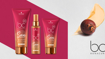 Formulated for sun-stressed hair