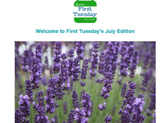July's First Tuesday Newsletter