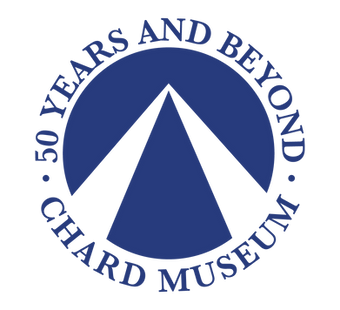 Chard Museum 50 Years logo to fit wix.pn