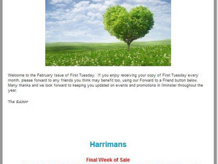 First Tuesday February 2016