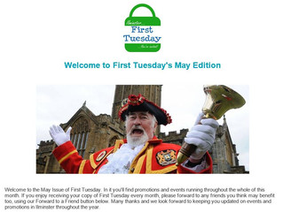 May's First Tuesday Newsletter