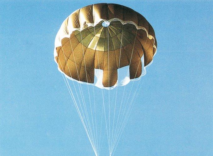 Bobbinet Parachute
