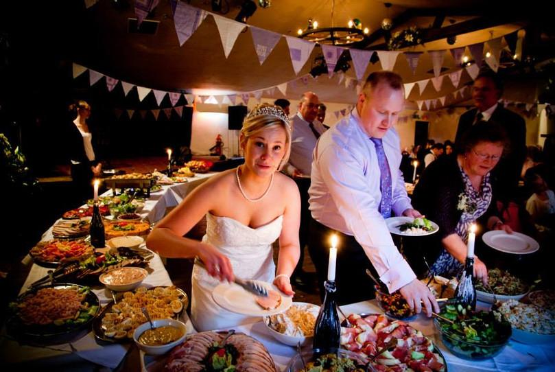 bride with buffet.jpg