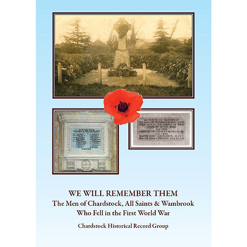 We Will Remember Them - Book