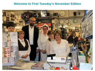 November's First Tuesday Newsletter