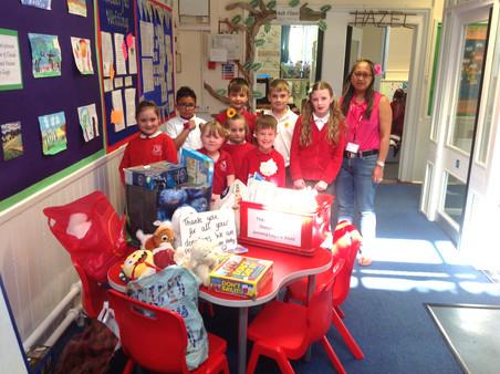 Toys for Bristol Children's Hospital