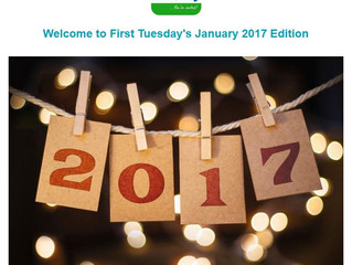 January's First Tuesday Newsletter