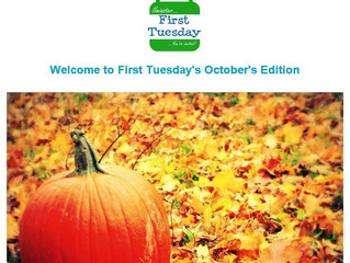 October's First Tuesday Newsletter