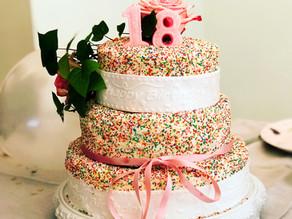 Geburtstagstorte für ein Mädchen