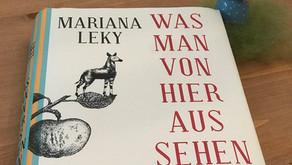 """""""Was man von hier aus sehen kann"""" - Mariana Leky"""