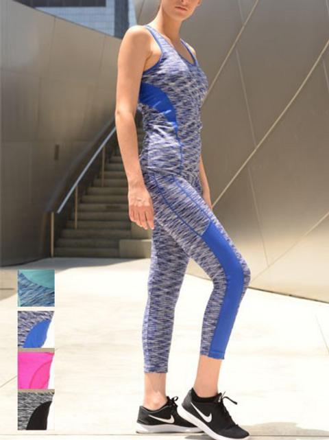 Nina Activewear Top and Pant Set