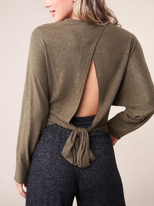Kristyn Open Back Sweater