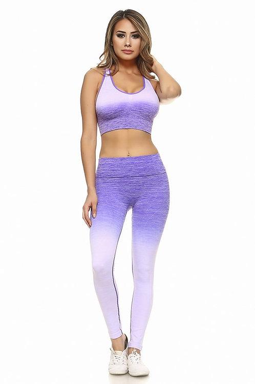 Kelly Activewear Sports Bra Pant Set