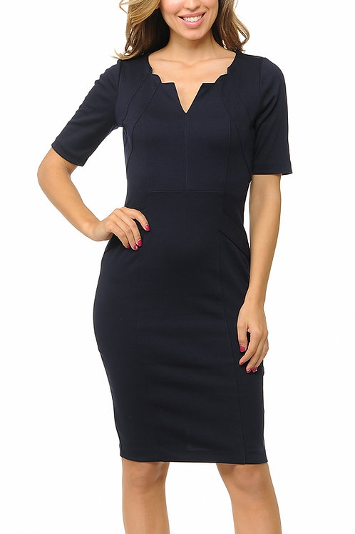 Dress to Impress Short-Sleeve Bodycon Dress
