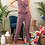 Thumbnail: Step Up Surplice Ruffle Front Solid Cami Jumpsuit