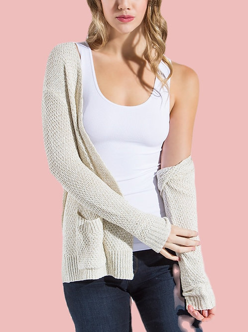 Simple Things Ribbed Seamless Tank Top