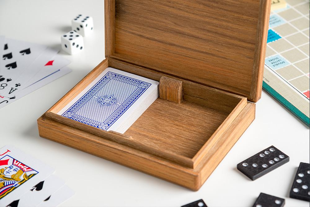 Croglin Luxury Wooden Card Box