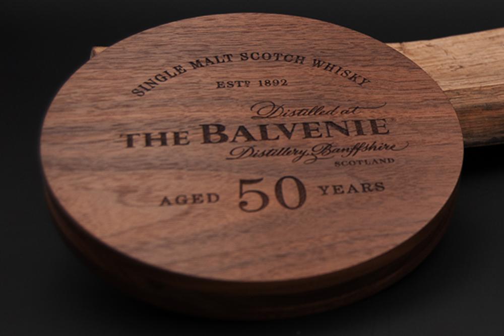 The Balvenie Luxury Wooden Packaging