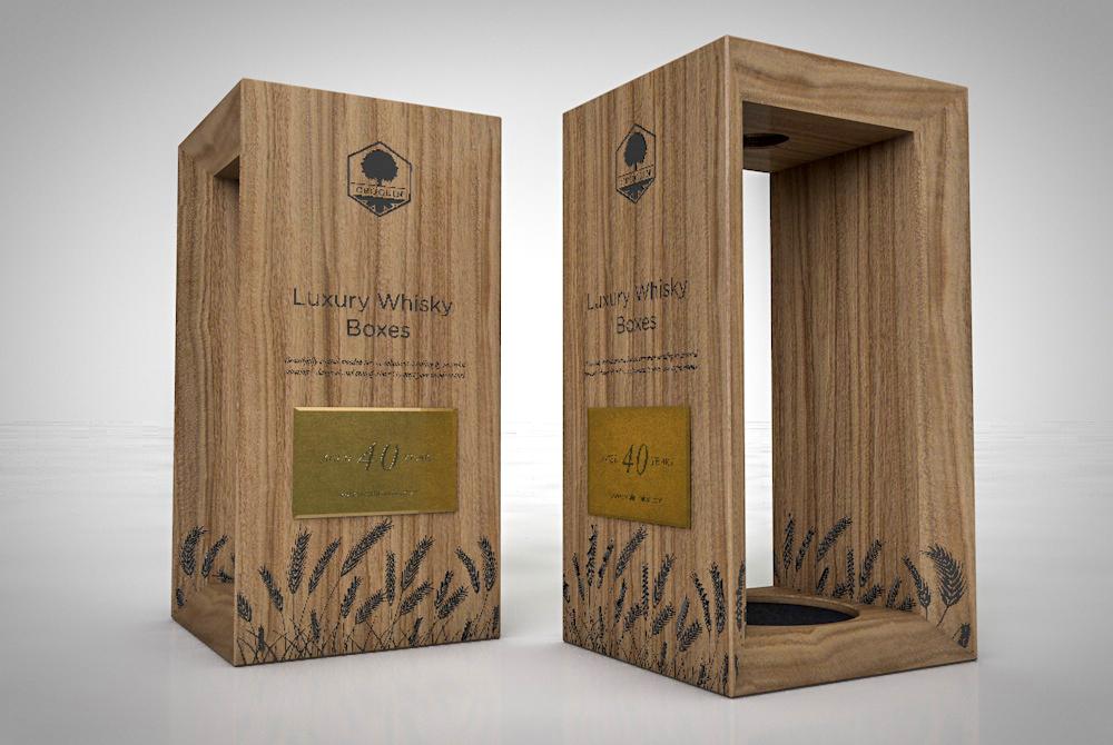 Croglin - Luxury Whisky POP/POS