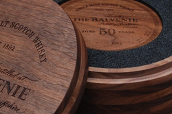 Luxury Wooden Whisky Press Pack