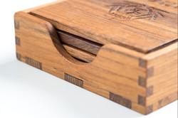 Croglin Luxury Wooden Coasters