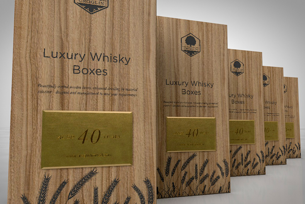 Croglin Luxury Whisky Presentation