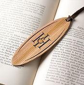 Luxury Wooden Presentation Bookmark by Croglin Limited