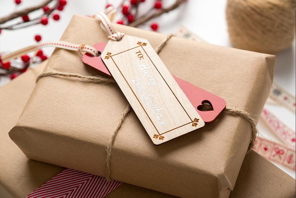 Croglin Luxury Wooden Gift tags