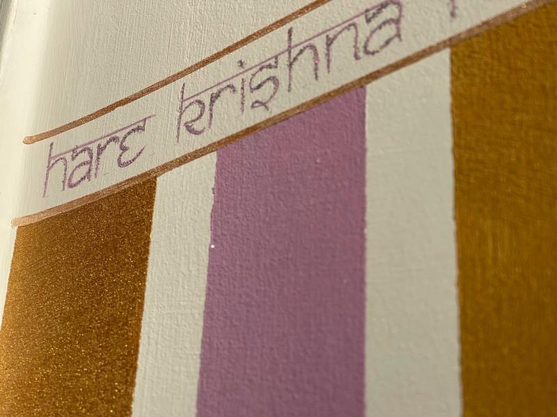 Hare Krishna detailing