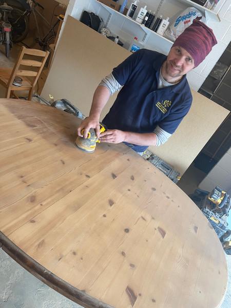 Oak Table Restoration